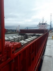 Segments at Port of Middlesbrough