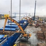 First Log Vessel for Sembcorp 04 June 2018