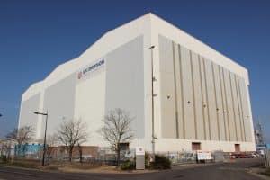 Port of Middlesbrough Fabrication Halls
