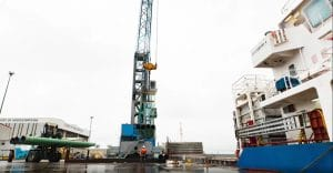 Steel at Port of Middlesbrough